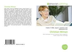 Bookcover of Christian Wiman