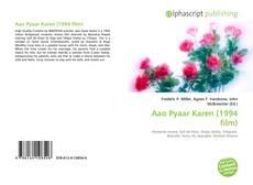 Portada del libro de Aao Pyaar Karen (1994 film)