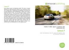 Lexus F的封面