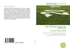 Copertina di Lexus Gauntlet