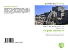 Capa do livro de Antipope Clement III