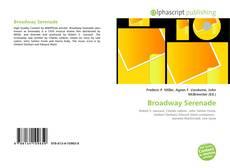 Capa do livro de Broadway Serenade