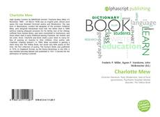 Bookcover of Charlotte Mew