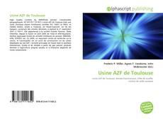 Capa do livro de Usine AZF de Toulouse