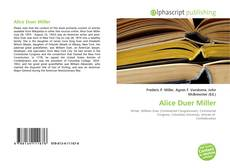 Alice Duer Miller kitap kapağı