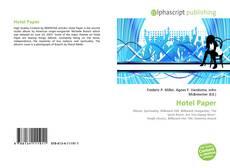 Buchcover von Hotel Paper
