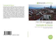 Borítókép a  Contrade de Sienne - hoz