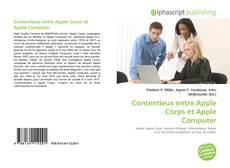 Bookcover of Contentieux entre Apple Corps et Apple Computer