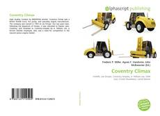 Bookcover of Coventry Climax