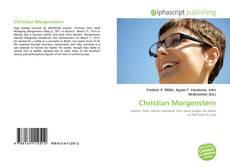 Обложка Christian Morgenstern