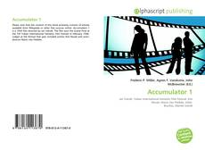 Bookcover of Accumulator 1