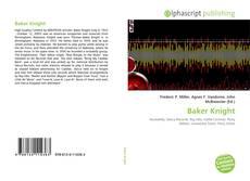 Baker Knight kitap kapağı