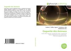 Bookcover of Goguette des Animaux