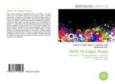 Bookcover of 2009–10 Coppa Titano