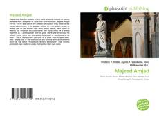 Bookcover of Majeed Amjad
