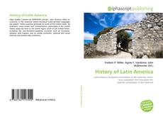 Bookcover of History of Latin America