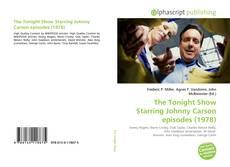 Buchcover von The Tonight Show Starring Johnny Carson episodes (1978)