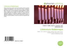 Copertina di Littérature Rabbinique