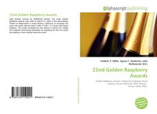 Bookcover of 22nd Golden Raspberry Awards