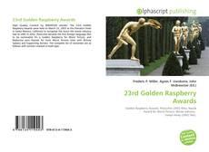 Buchcover von 23rd Golden Raspberry Awards