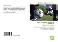 Hossein Kaebi kitap kapağı