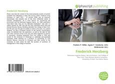 Buchcover von Frederick Herzberg