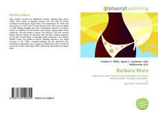 Borítókép a  Barbara Marx - hoz
