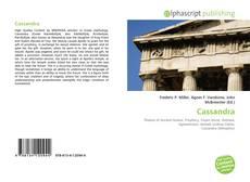 Capa do livro de Cassandra
