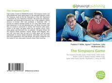 Portada del libro de The Simpsons Game