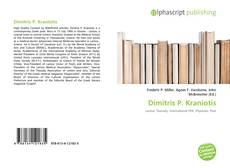 Dimitris P. Kraniotis kitap kapağı