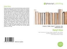 Bookcover of Daryl Hine