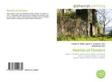 Matilda of Flanders kitap kapağı