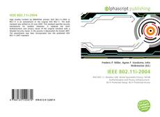Bookcover of IEEE 802.11i-2004