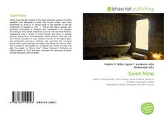 Bookcover of Saint Nino