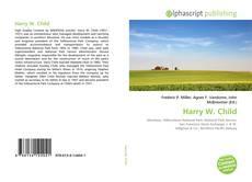 Portada del libro de Harry W. Child