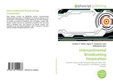 Buchcover von Intercontinental Broadcasting Corporation