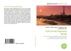Bookcover of Cult of the Supreme Being