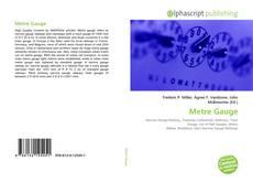 Обложка Metre Gauge