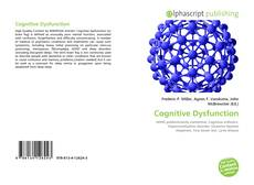 Bookcover of Cognitive Dysfunction