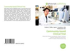 Bookcover of Community-based Clinical Trial