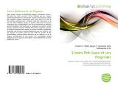 Portada del libro de Simon Petlioura et Les Pogroms