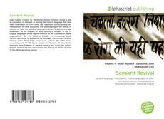 Buchcover von Sanskrit Revival