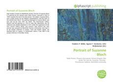 Bookcover of Portrait of Suzanne Bloch