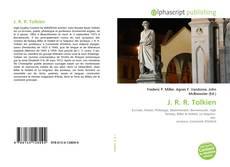 Обложка J. R. R. Tolkien