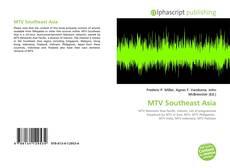 MTV Southeast Asia的封面