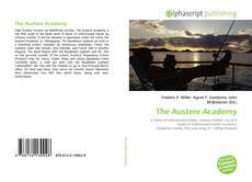 Capa do livro de The Austere Academy