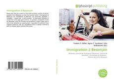 Capa do livro de Immigration à Besançon