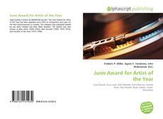 Capa do livro de Juno Award for Artist of the Year