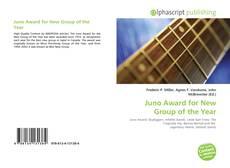 Capa do livro de Juno Award for New Group of the Year