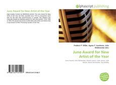 Capa do livro de Juno Award for New Artist of the Year